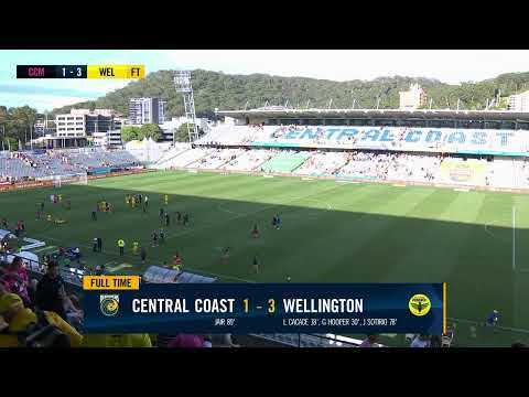 Hyundai A-League 2019/20: Round 22 - Central Coast Mariners v Wellington Phoenix (Full Game)
