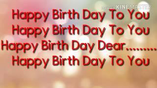 Happy Birth Day karaoke by KB entertainment