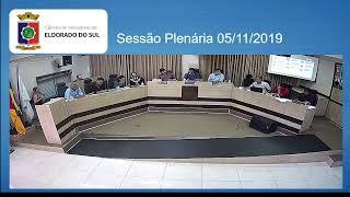 Sessão Plenária  05/11/2019