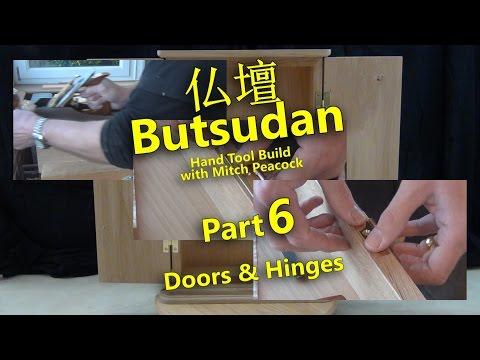 Butsudan Build Part 6 - Doors & Hinges