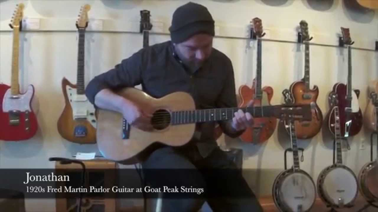 Goat Peak Sessions - 1900s Fred Martin Parlor Guitar