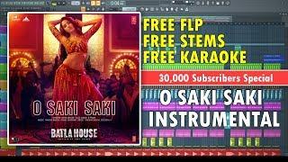 O SAKI SAKI (Instrumental) | Batla House | Tanishk Bagchi | Dr.Vilest & BreakMasterz | Free FLP