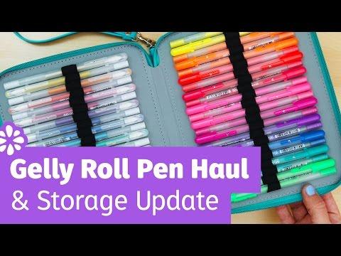 Gelly Roll Pen Haul & Storage Update! | Sea Lemon
