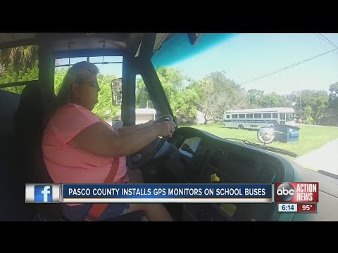 Pasco school buses add GPS tracking