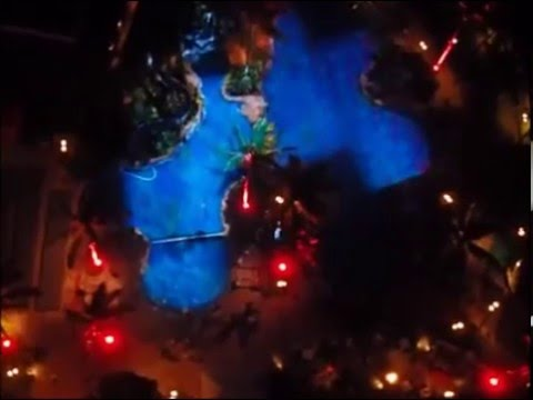 3d pool light show helumoa sheraton waikiki hotel youtube for Pool light show waikiki