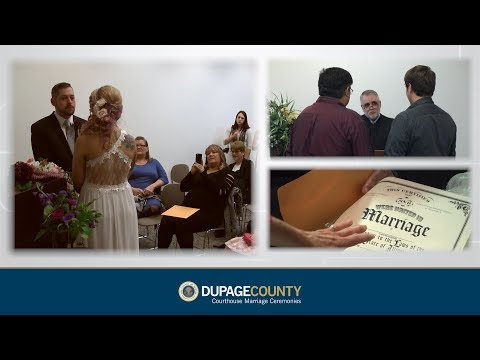 Wedding Ceremonies at DuPage County