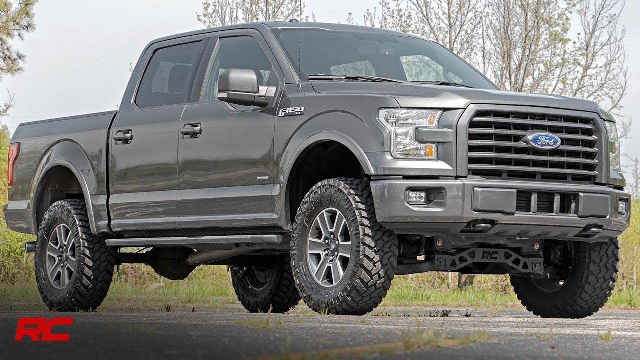 2017 2018 Ford F 150 4 Inch Suspension Lift Kit By Rough Country