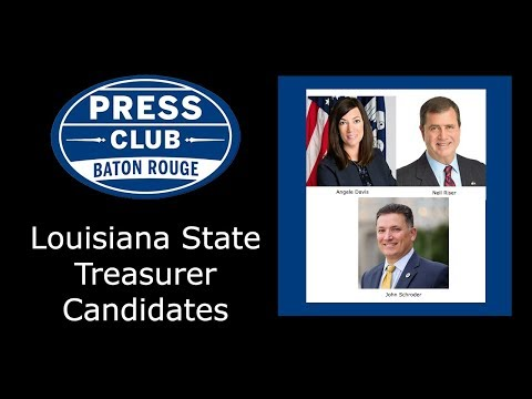 Press Club - 09/25/17 - Louisiana State Treasurer Candidates