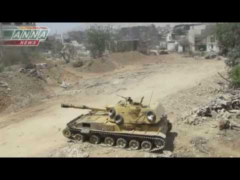 Сирия 2С3 «Ака́ция» наносит ответный удар ::Syria 2S3 Akatsiya::