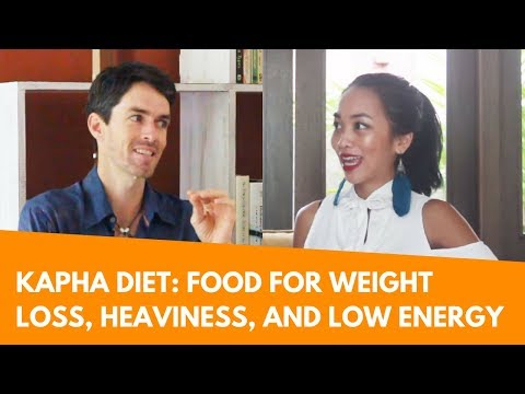Ayurveda Kapha Diet: Supporting Weight Loss, Heaviness, Congestion, and Low Energy with Food