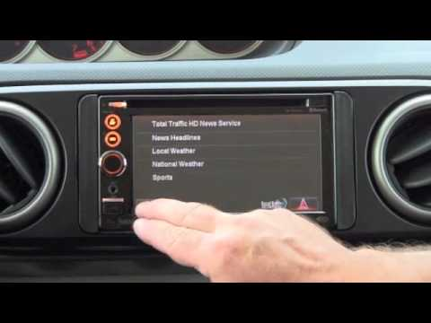 Checking Out The JVC KW-NT3HDT Nav Device With HD Radio Technology