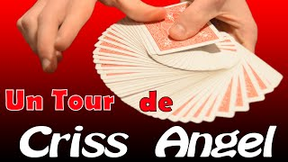 Tour de Magie INCROYABLE de Criss ANGEL (explication)