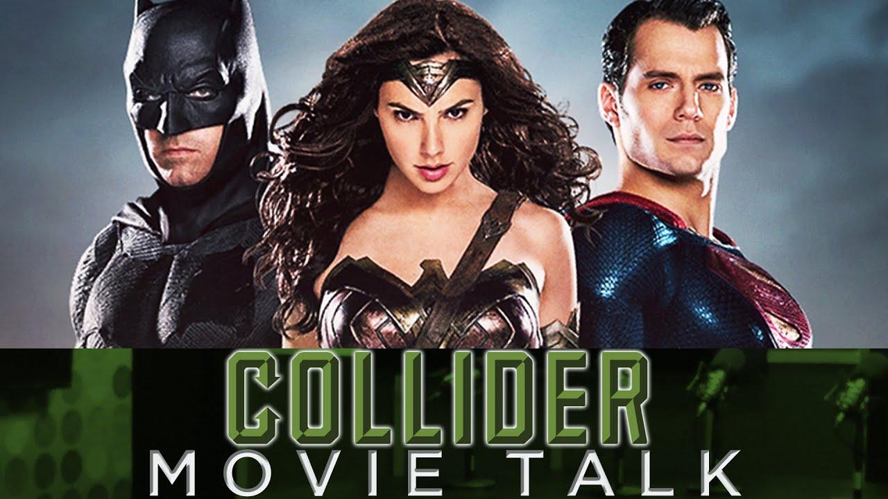 collider movie talk batman v superman box office dropoff doctor strange set pics youtube