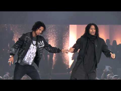 Les Twins THE DANCE 2016 Urban Dance Competition PERFORMANCE in Zrich
