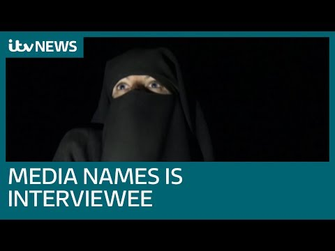 Islamic State woman who spoke to ITV News after escaping Baghouz named in reports | ITV News