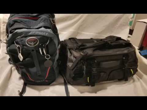 252afe7178 Traveling With The Hexad Access Duffel and Osprey Nebula - YouTube
