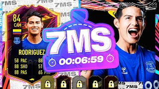 RED CARD = DISCARD!! OTW JAMES RODRIGUEZ 7 MINUTE SQUAD BUILDER -  FIFA 21 ULTIMATE TEAM