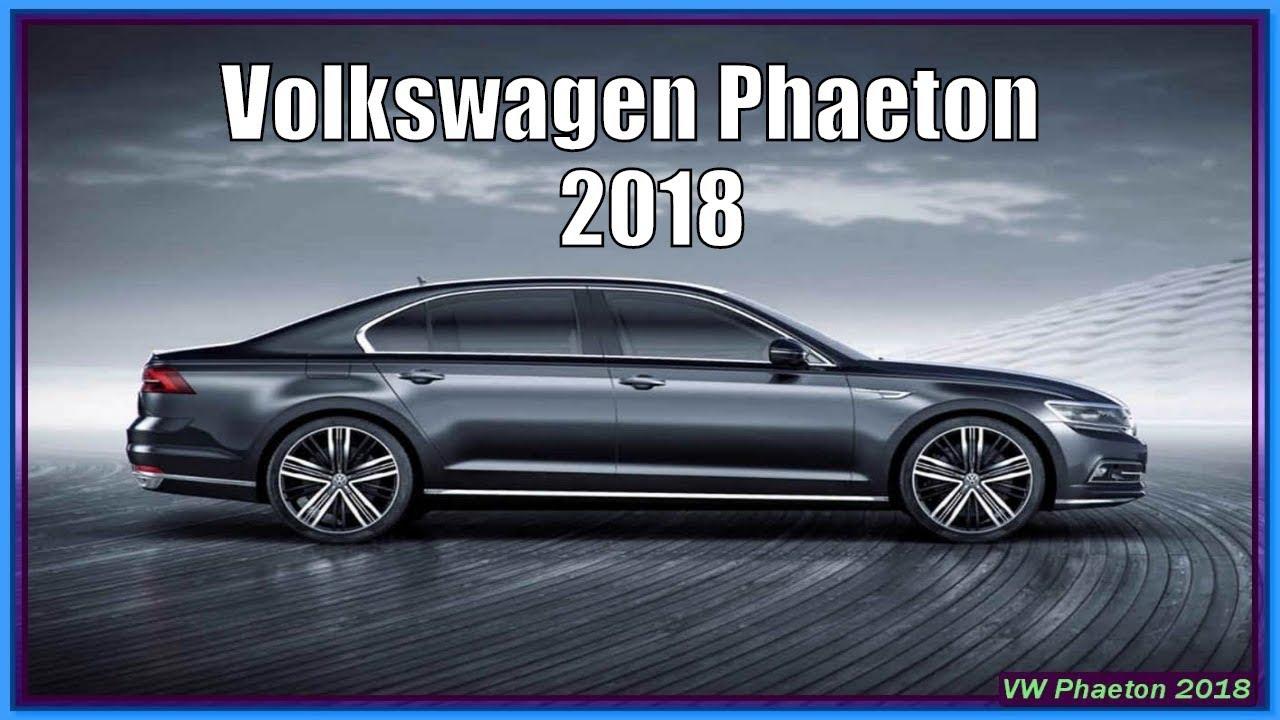 amazing volkswagen phaeton 2018 specs price release