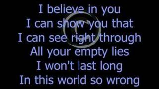 BREAKING BENJAMIN - DANCE WITH THE DEVIL!! LYRICS
