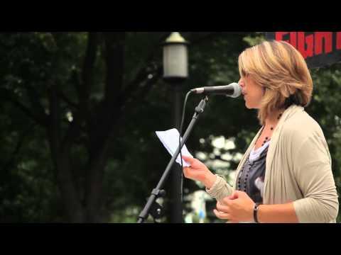 Naomi Klein Debunks Ethical Oil at Tar Sands Action