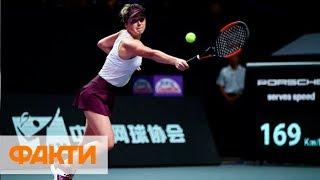 Элина Свитолина досрочно вышла в полуфинал теннисного турнира в Шэньчжэне