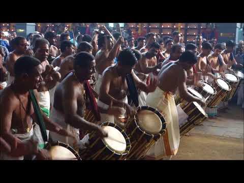 Panchari Melam - Ernakulam Shiva Temple Festival 2018