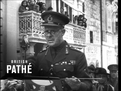 Sword Of Honour For Lord Gort (1944)