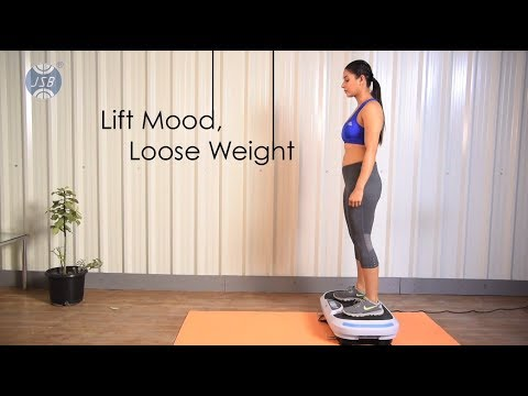 Vibrating Plate Body Shaker Machine India Slimming Massager JSB HF57