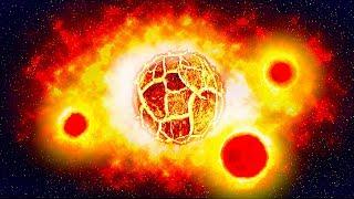 Новая планета, у которой нашли три солнца