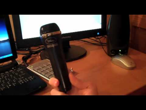 Sing It USB Microphone Demo