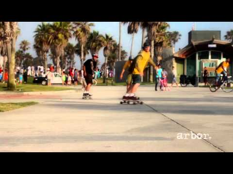 Arbor Longboards In Venice Beach