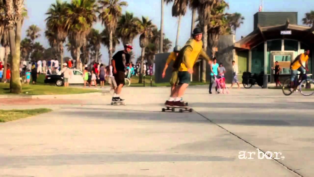 Arbor Longboards in Venice Beach  YouTube