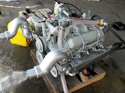 GM 6.2 Marine engine going in my Luhrs 28 boat - YouTube