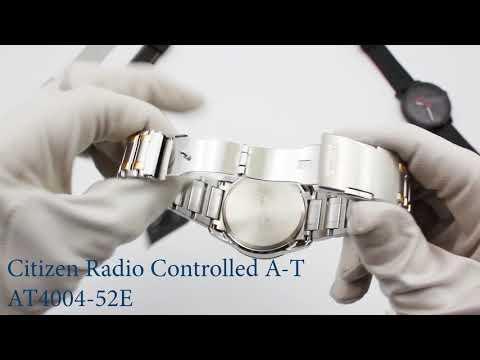 Citizen radio controlled perpetual calendar chronograph - AT4004 52E
