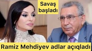 TƏCİLİ:Ramiz Mehdiyev xəyanətkarların adlarını açıqladı-Şok siyahı