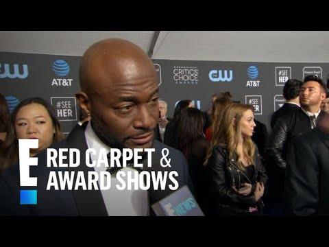 Taye Diggs Promises Strip Tease at Critics Choice Awards  E Red Carpet & Award Shows