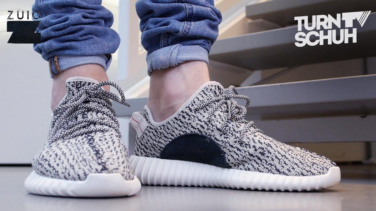 5967d399dd5 Adidas YEEZY BOOST 350 - On-Feet Review - YouTube