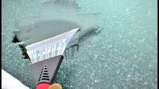 видео Обледенение автомобильных стекол