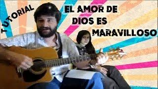 Alabanzas cristianas con guitarra El amor de Dios es maravilloso. Es #20.