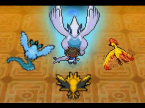 Pokémon Black 2 / White 2 Walkthrough: Catching Lugia In Abyssal Ruins (Secret Legendary) [Spoof]