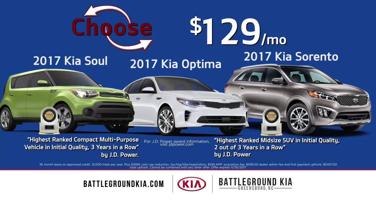 Lovely Light Up Your Holiday And Choose At Battleground Kia, Greensboro!