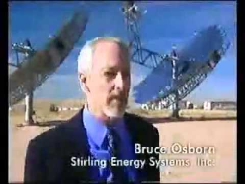 Stirling Dish 500MW solar power plant.flv