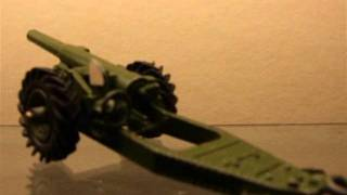 Dinky Toys 7.2 inch Howitzer