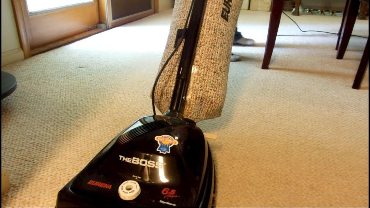 Vintage 1992 Eureka The Boss (2034D) ESP Blue Ribbon Upright Vacuum Cleaner