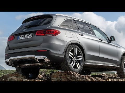 2020 Mercedes GLC SUV facelift and more power