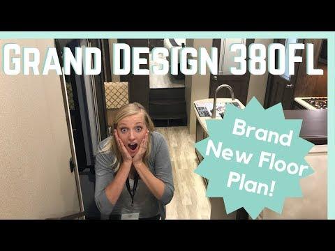 RV Tour: 2019 Grand Design 380FL (Brand New MUST SEE Floorplan!)