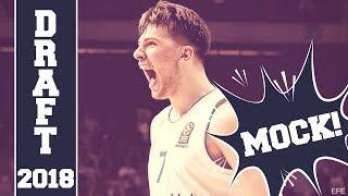 MOCK DRAFT NBA 2018 | Primera parte