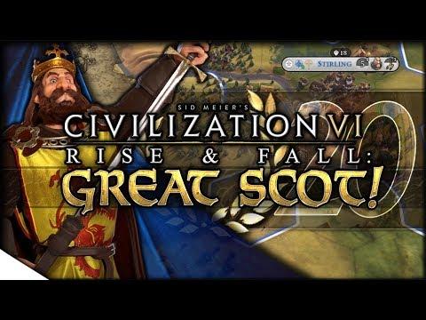 A Modern Scotland | Civilization VI: Rise & Fall — GREAT SCOT! 20 | Continents King