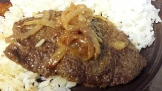 Fried Cube Steak (bistec frito )