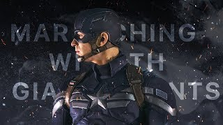 (MARVEL) Captain America | Marching With Giants
